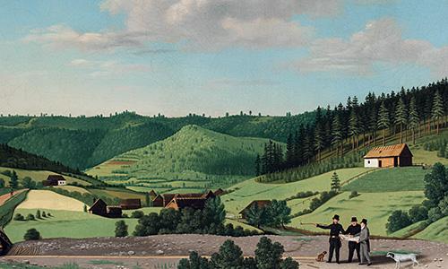 Krajina na obzore – najstaršie pohľady