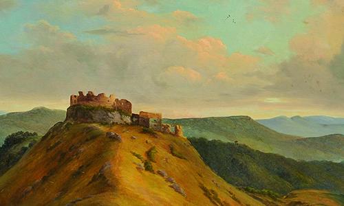 Historizujúca interpretácia krajiny – hrady, zámky, ruiny